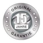 Garantie 15 Jahre