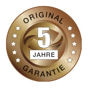 Garantie 5 Jahre