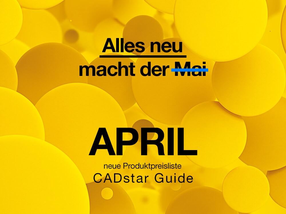 """neue Preisliste der """"CADstar Guide"""""""