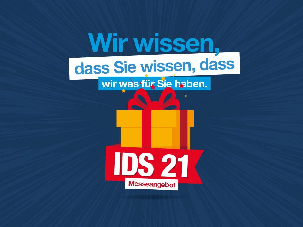 IDS 2021 - Messeangebot